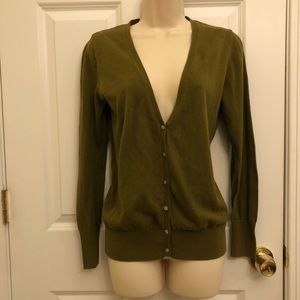 Old Navy Cardigan Olive / Army Green Women's Lg VG